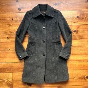 ✨ COLE HAAN CHARCOAL GRAY WINTER COAT